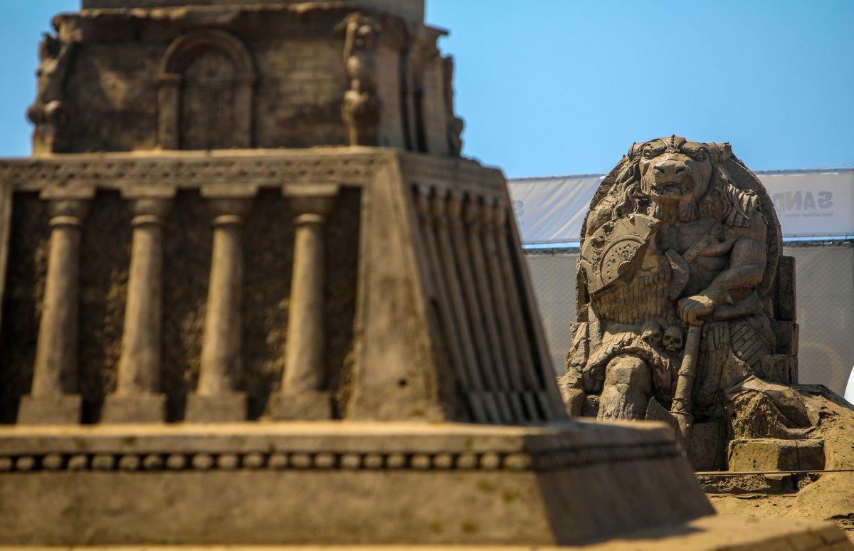 Antalya Kum Heykel Festivali başladı: Kayıp Şehir Atlantis temasıyla açıldı #2