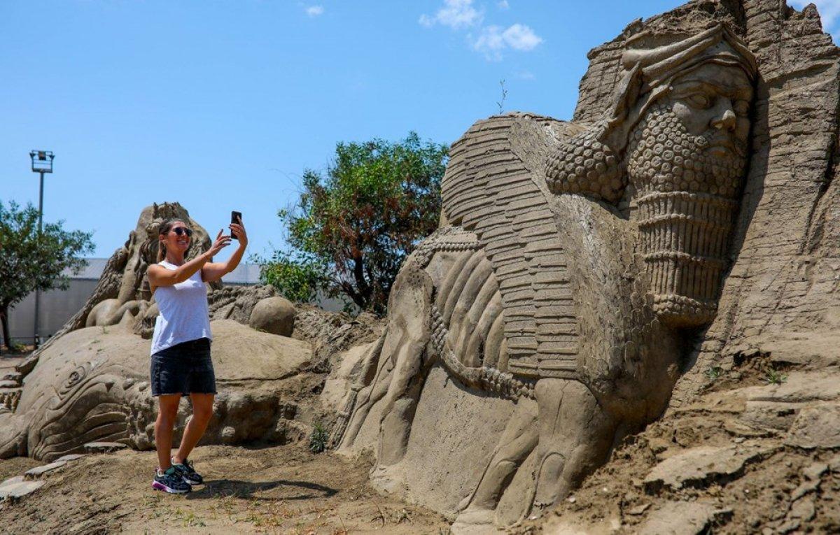 Antalya Kum Heykel Festivali başladı: Kayıp Şehir Atlantis temasıyla açıldı #1
