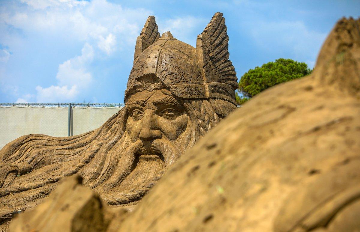 Antalya Kum Heykel Festivali başladı: Kayıp Şehir Atlantis temasıyla açıldı #3