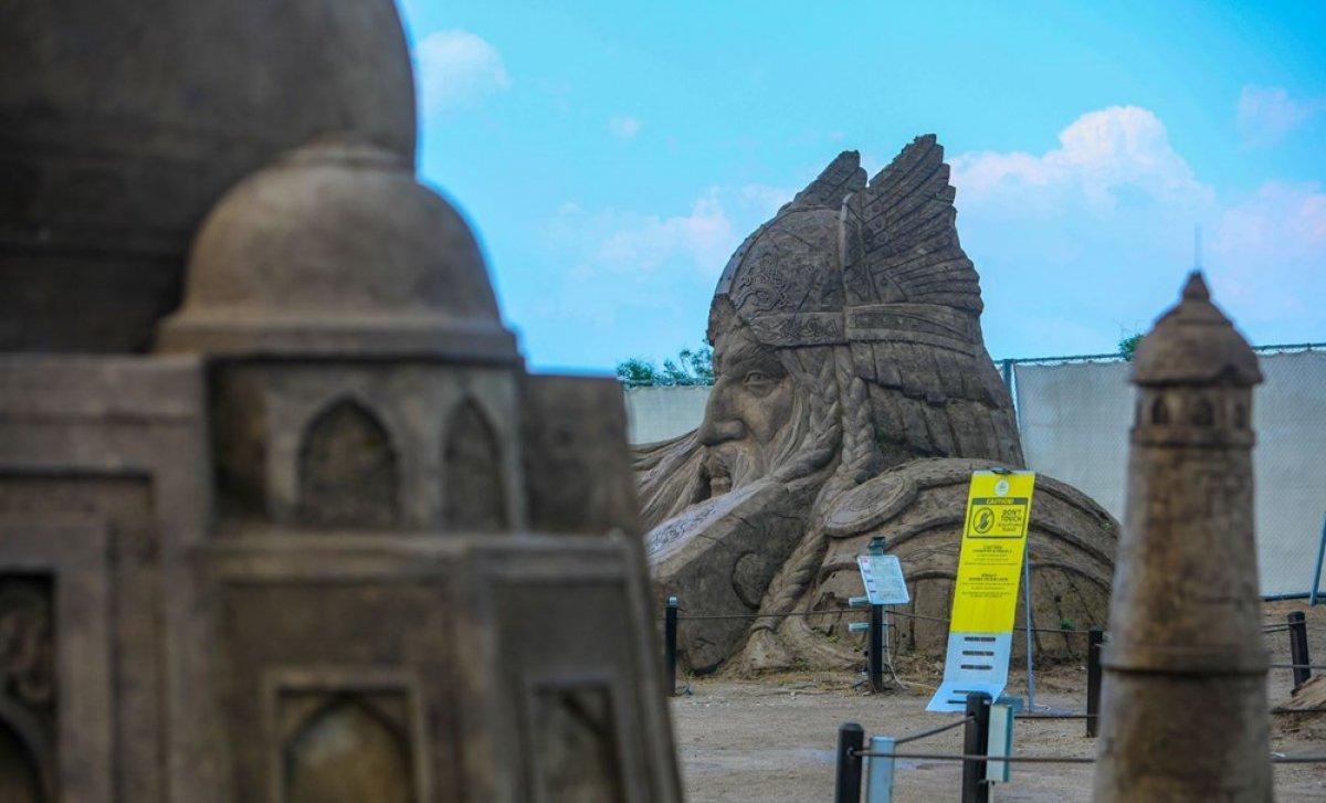 Antalya Kum Heykel Festivali başladı: Kayıp Şehir Atlantis temasıyla açıldı #7