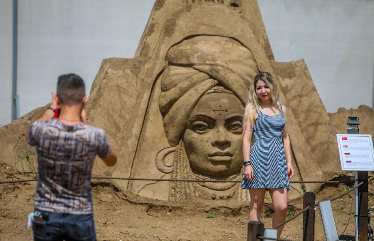 Antalya Kum Heykel Festivali başladı: Kayıp Şehir Atlantis temasıyla açıldı #5