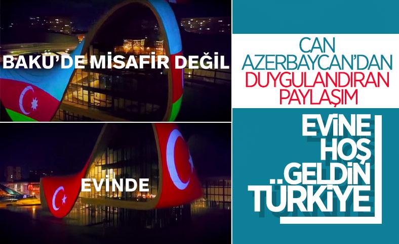 Azerbaycan'dan Türkiye A Milli Futbol Takımı için özel klip