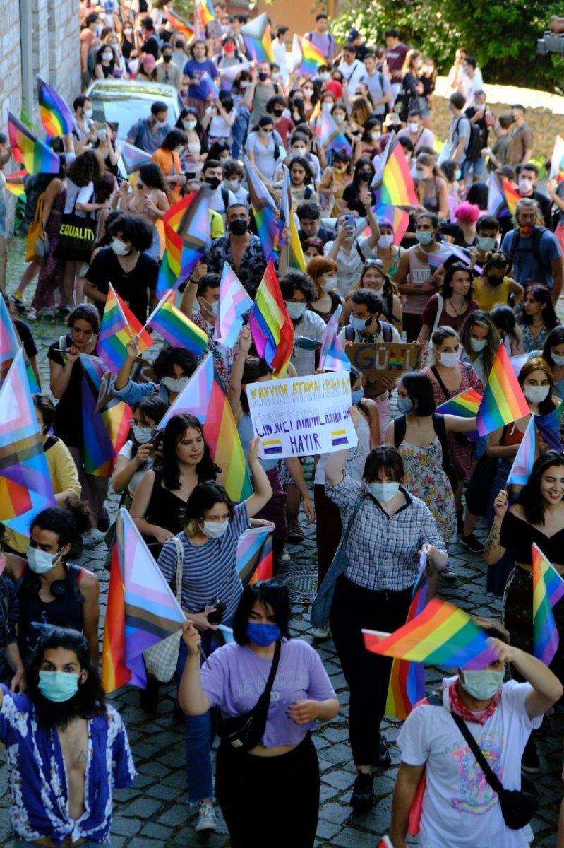 Boğaziçi Üniversitesi nde LGBT yürüyüşü #4