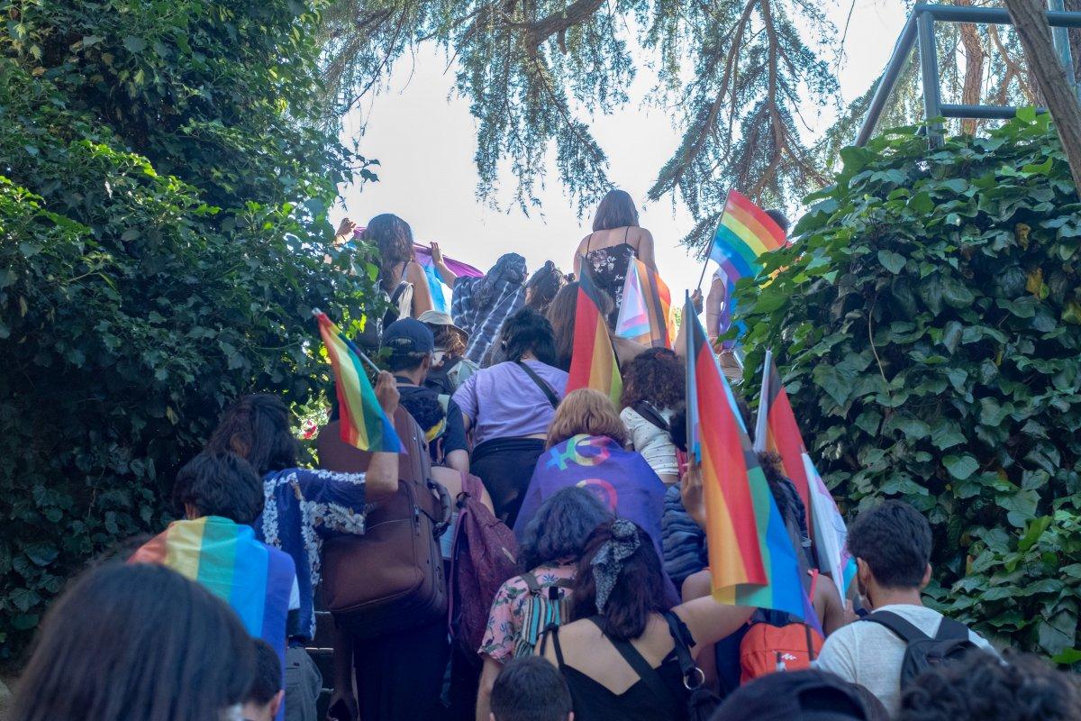 Boğaziçi Üniversitesi nde LGBT yürüyüşü #2