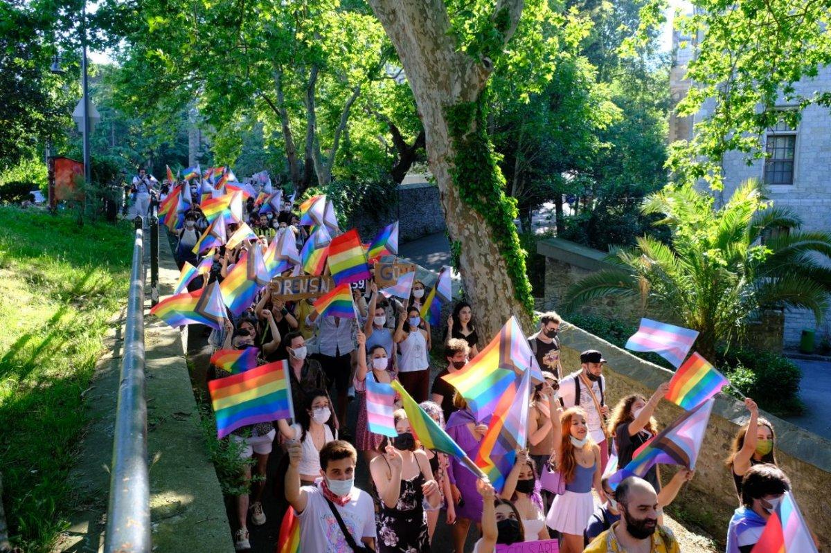 Boğaziçi Üniversitesi nde LGBT yürüyüşü #3