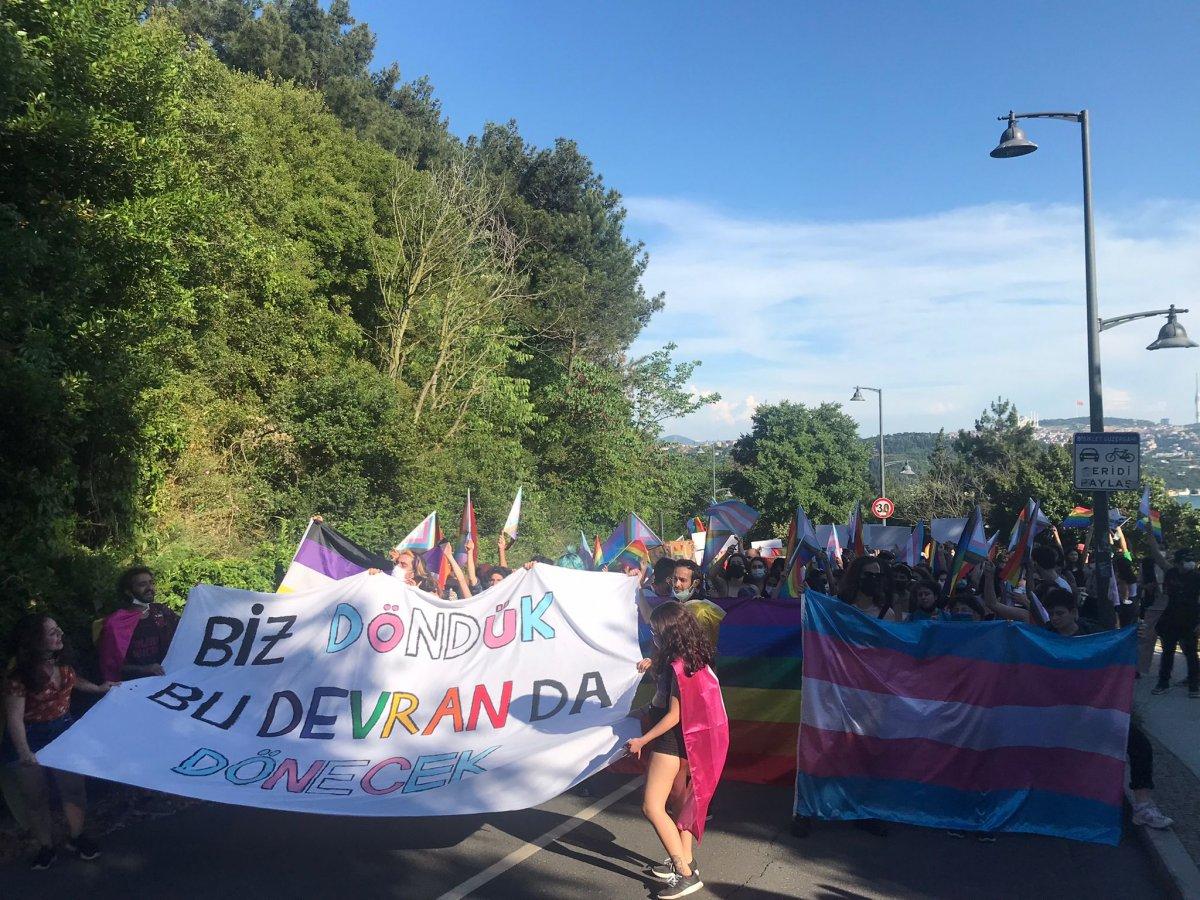 Boğaziçi Üniversitesi nde LGBT yürüyüşü #1