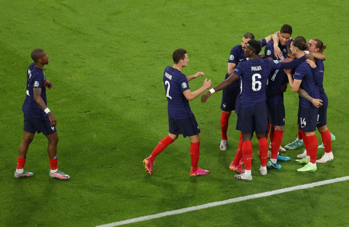 Fransa, Almanya yı tek golle mağlup etti #2