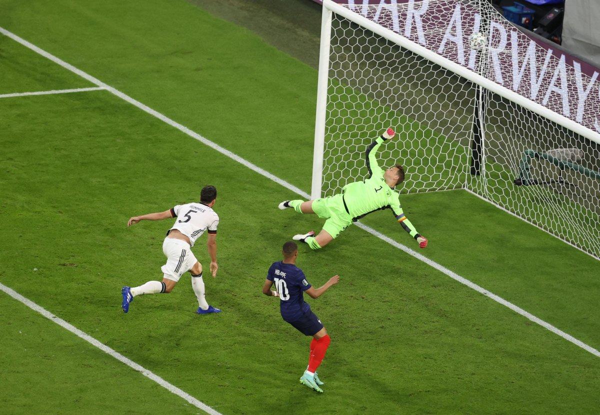 Fransa, Almanya yı tek golle mağlup etti #1