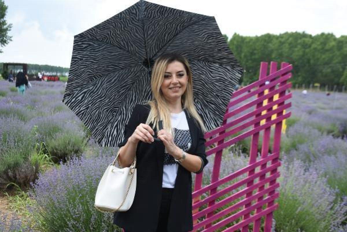 Edirne de mor tarlalar festival alanına döndü #5