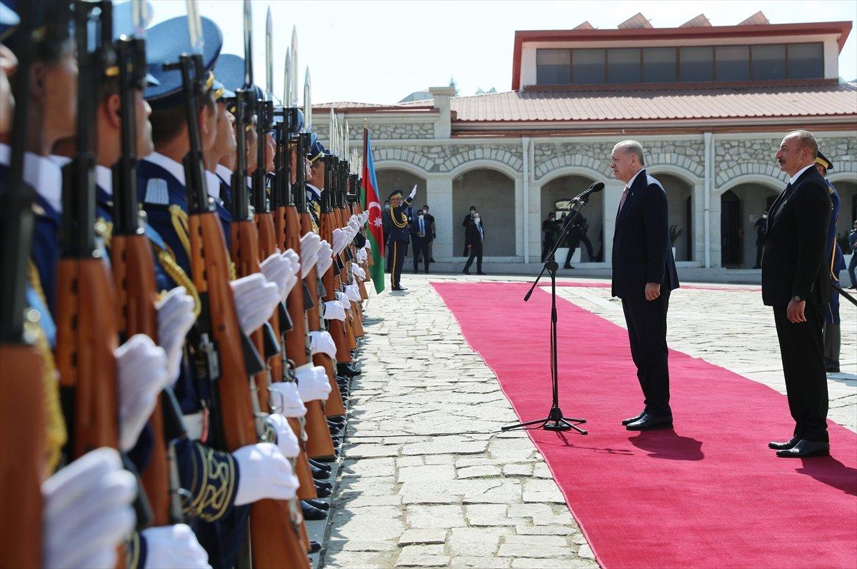 Cumhurbaşkanı Erdoğan ve Aliyev, Şuşa Beyannamesi ni imzaladı #11