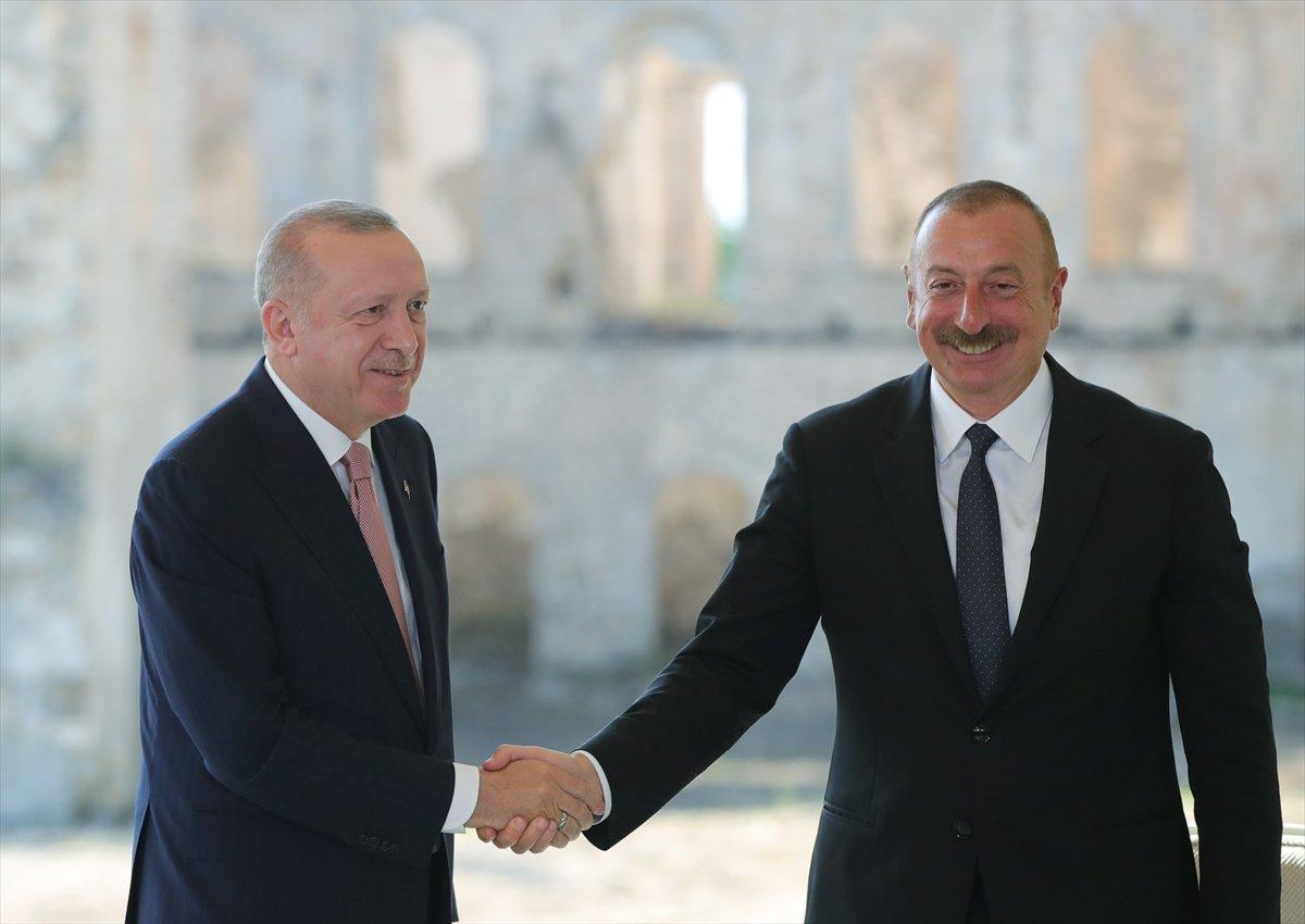 Cumhurbaşkanı Erdoğan ve Aliyev, Şuşa Beyannamesi ni imzaladı #8