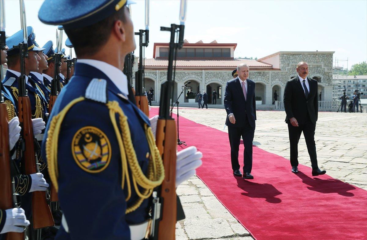 Cumhurbaşkanı Erdoğan ve Aliyev, Şuşa Beyannamesi ni imzaladı #12