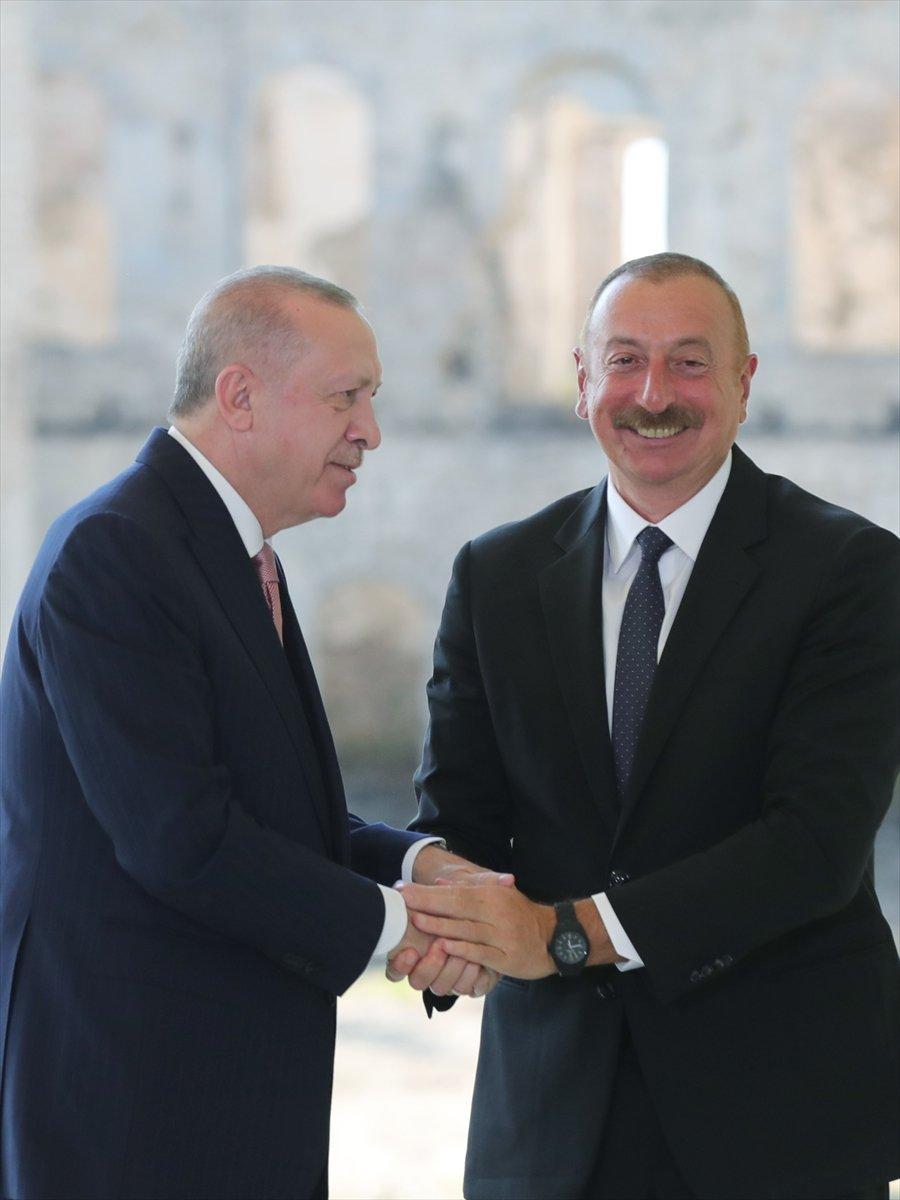 Cumhurbaşkanı Erdoğan ve Aliyev, Şuşa Beyannamesi ni imzaladı #16