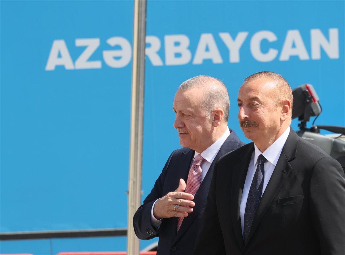 Cumhurbaşkanı Erdoğan ve Aliyev, Şuşa Beyannamesi ni imzaladı #13