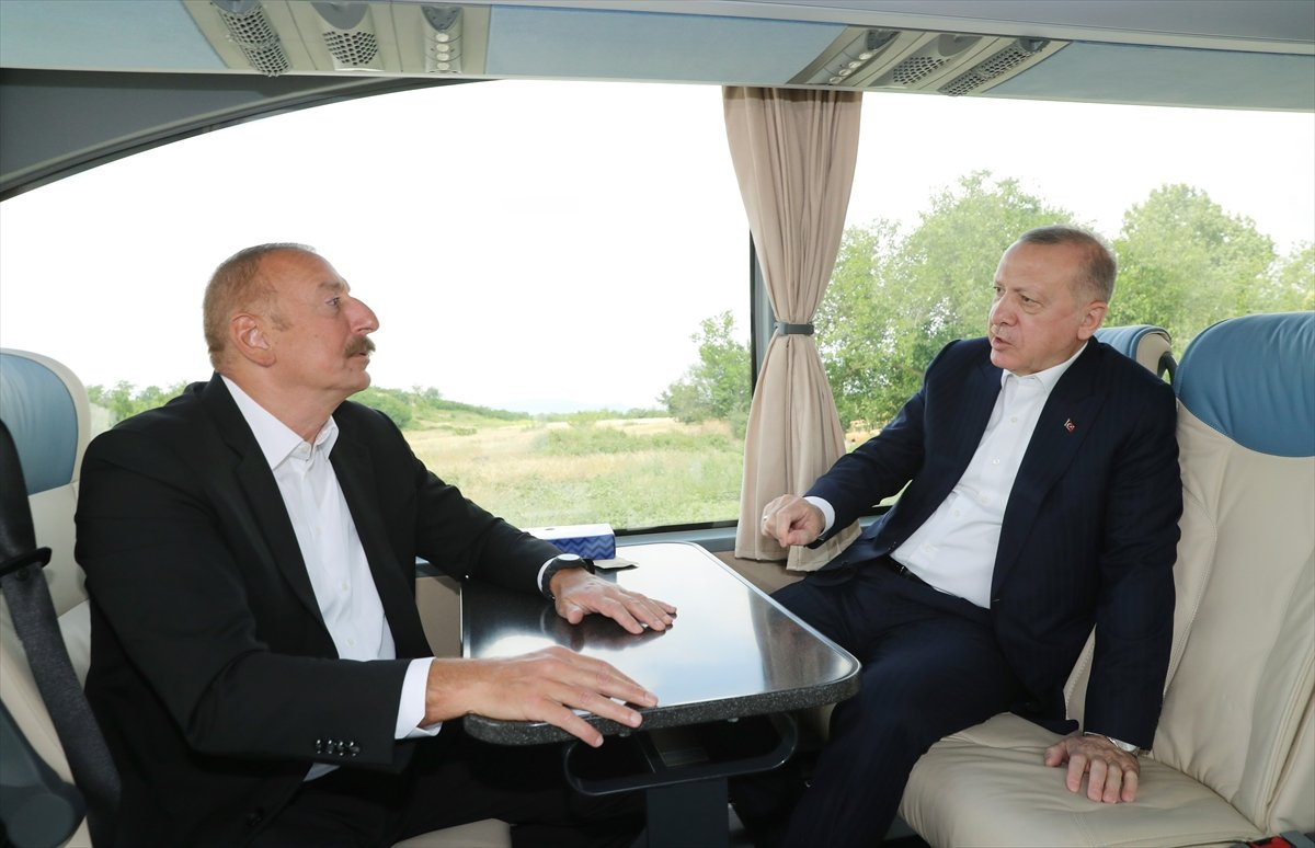Cumhurbaşkanı Erdoğan, İlham Aliyev ile Şuşa yı gezdi #2