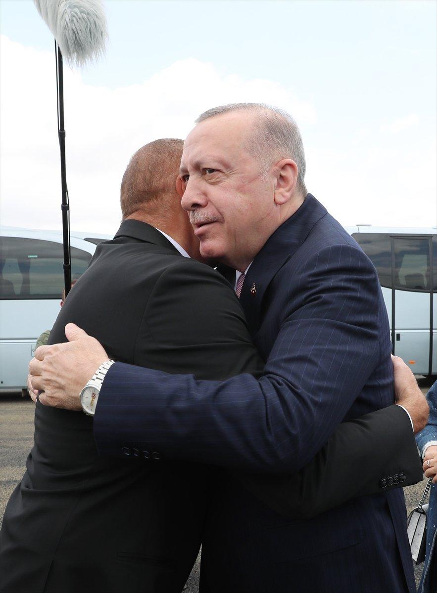 Cumhurbaşkanı Erdoğan, İlham Aliyev ile Şuşa yı gezdi #7