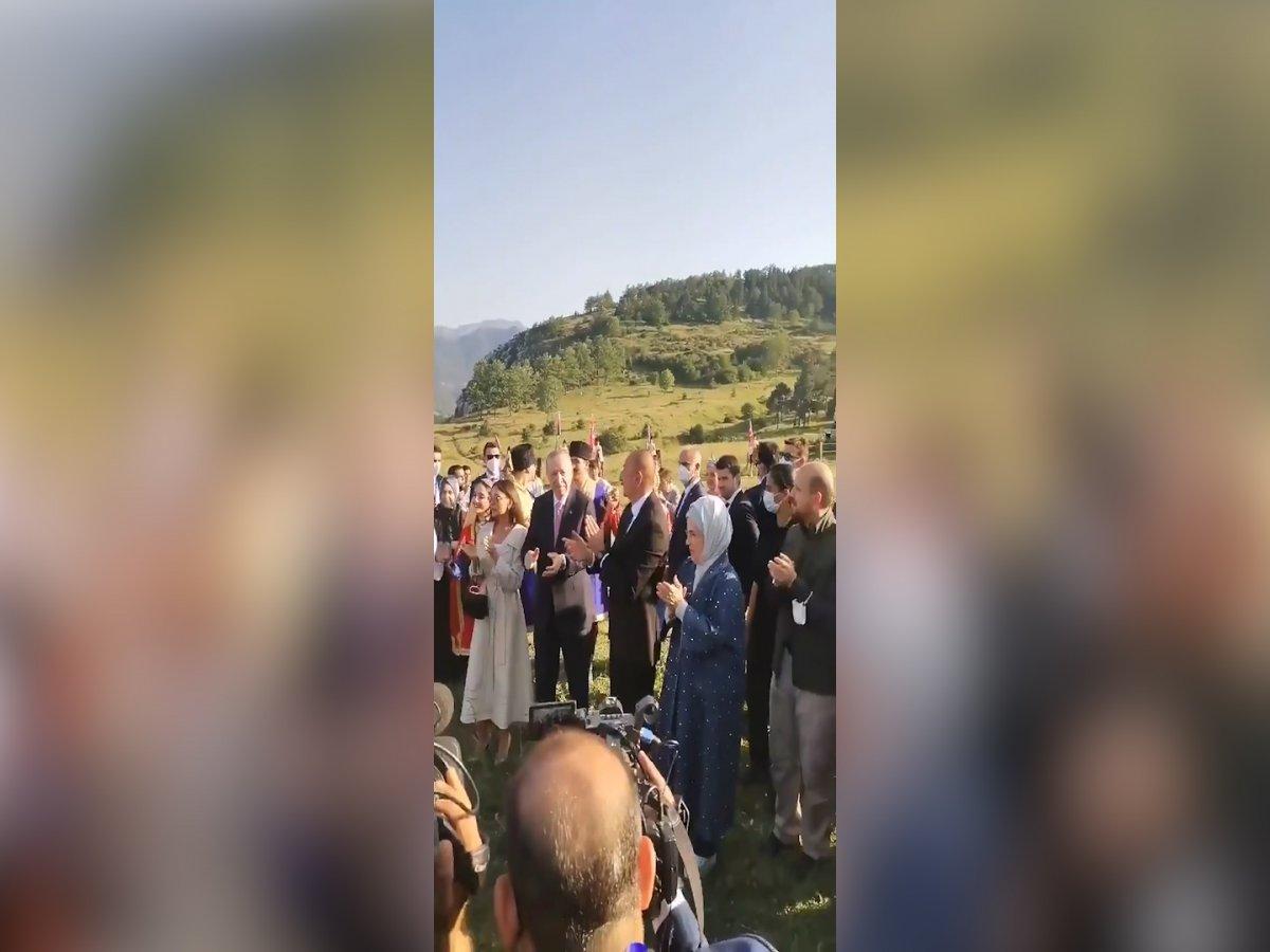 Cumhurbaşkanı Erdoğan ın Şuşa ziyaretinden renkli görüntüler #1