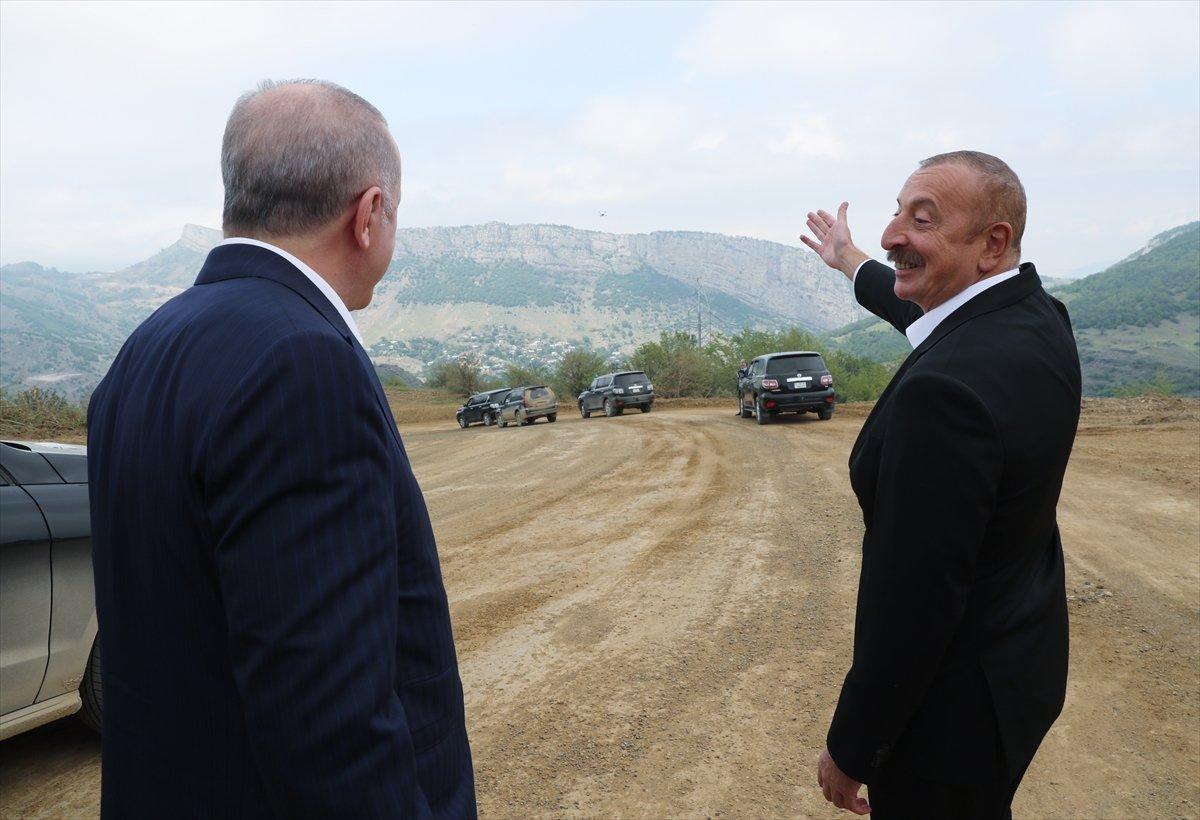 Cumhurbaşkanı Erdoğan ile Aliyev Şuşa'da #2