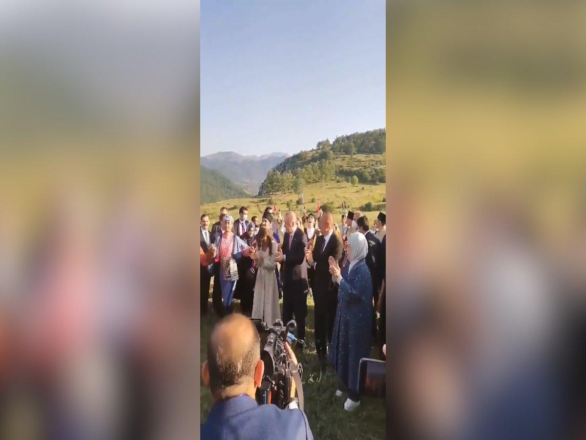 Cumhurbaşkanı Erdoğan ın Şuşa ziyaretinden renkli görüntüler #2