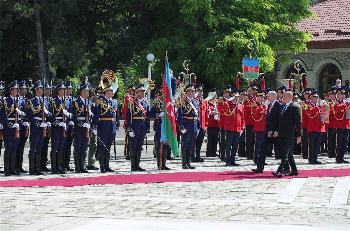 Cumhurbaşkanı Erdoğan ve Aliyev, Şuşa Beyannamesi ni imzaladı #10