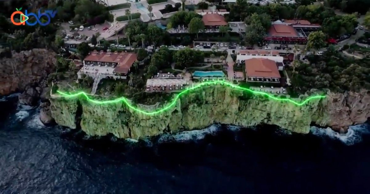 Antalya da falezlerin  pavyon a benzetildiği proje iptal edildi #2