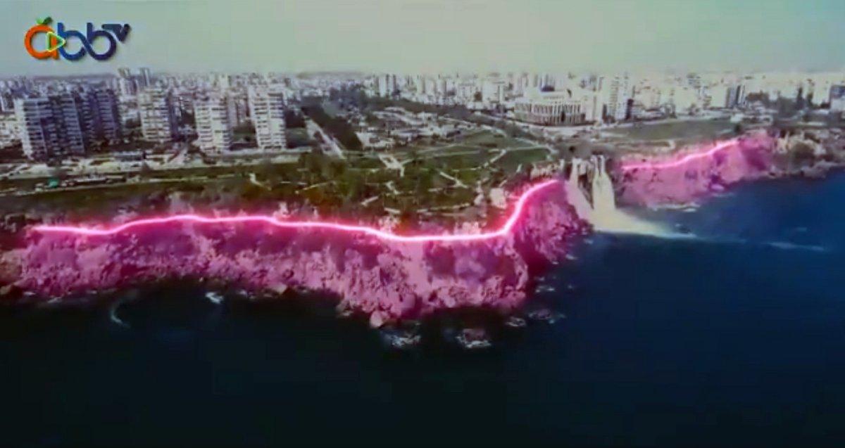 Antalya da falezlerin  pavyon a benzetildiği proje iptal edildi #1