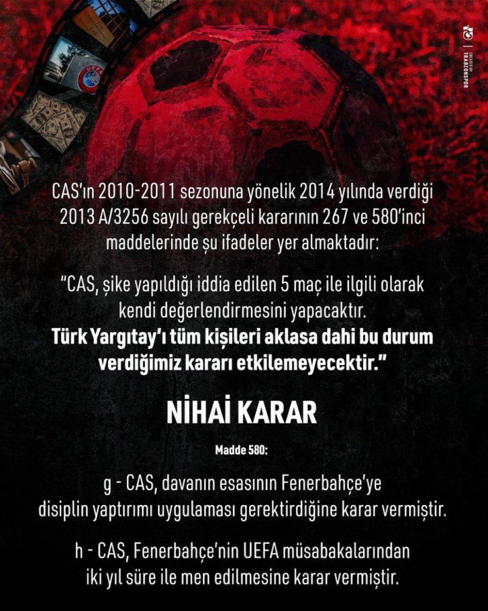 Fenerbahçe den Ahmet Ağaoğlu na cevap #5