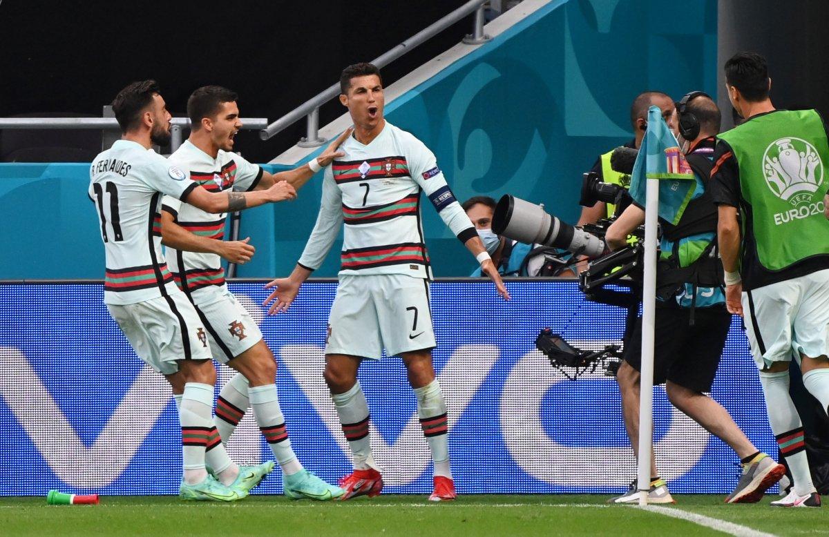 Portekiz, Macaristan ı 3 golle yendi #2