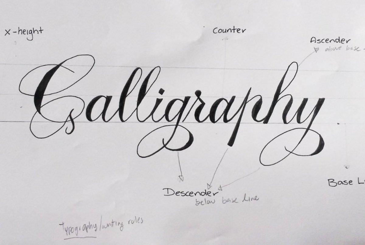 Harflere ruh veren sanat: Kaligrafi #1