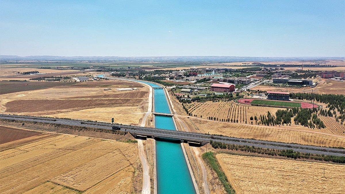 Mardin-Ceylanpınar Ana Kanalı tamamlandı #1