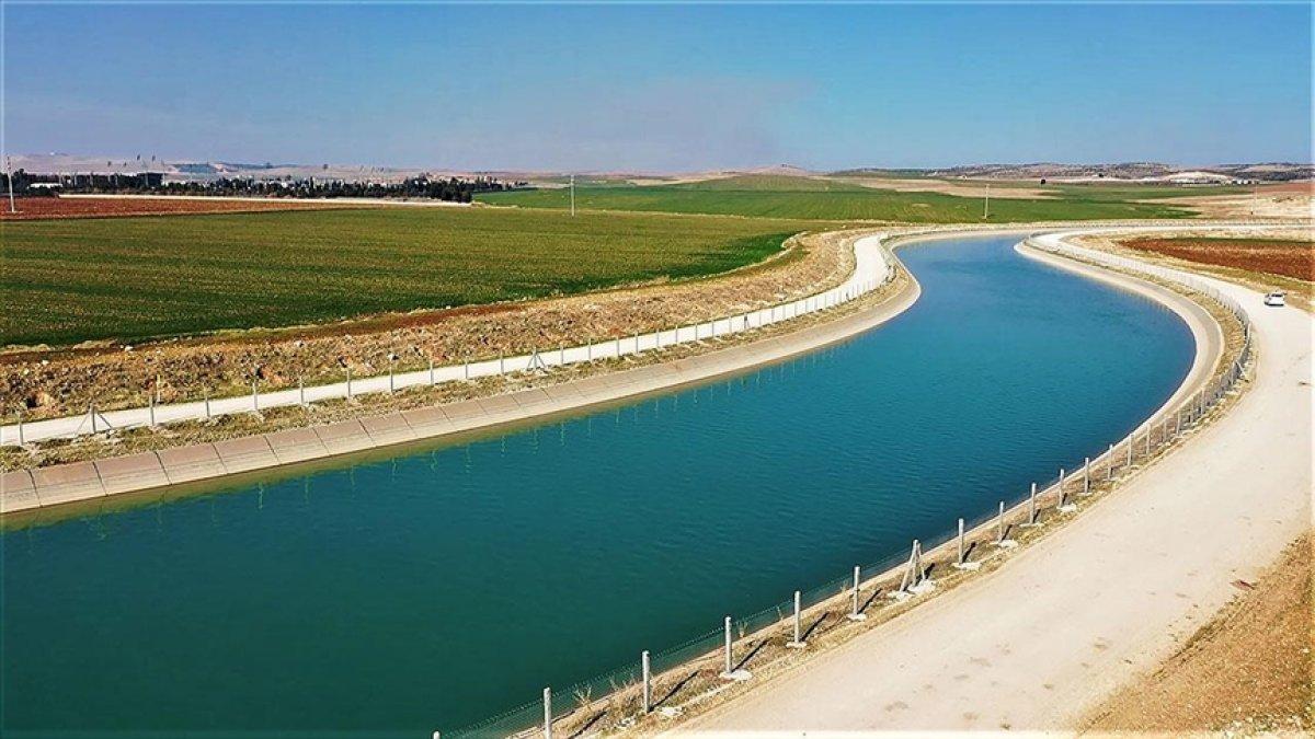 Mardin-Ceylanpınar Ana Kanalı tamamlandı #2