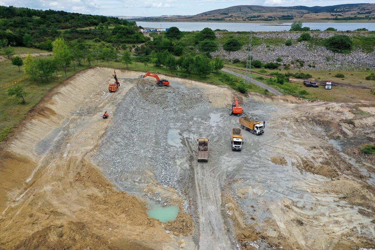 Kanal İstanbul un ilk köprüsünün çalışmaları devam ediyor #3