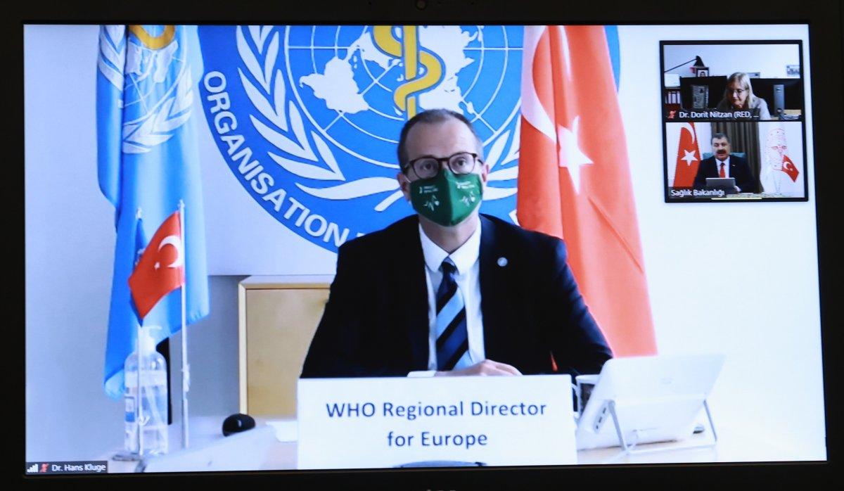 DSÖ Avrupa Direktörü Kluge'dan Türkiye'ye tebrik #3