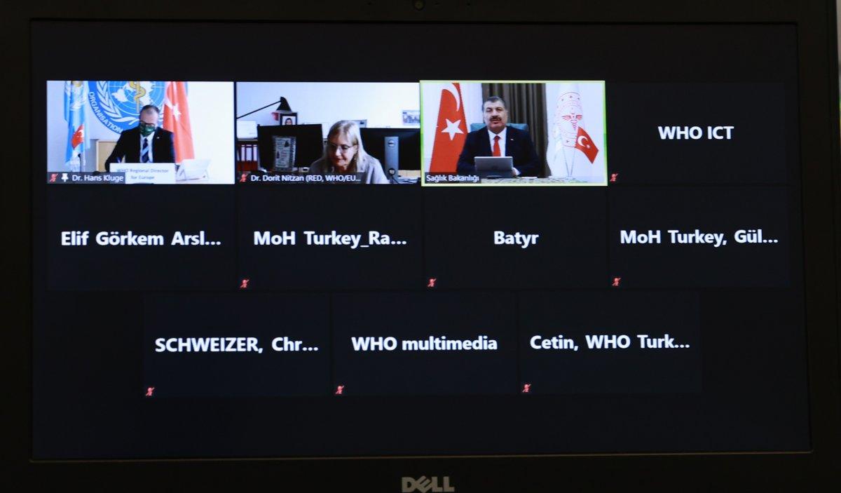 DSÖ Avrupa Direktörü Kluge'dan Türkiye'ye tebrik #2