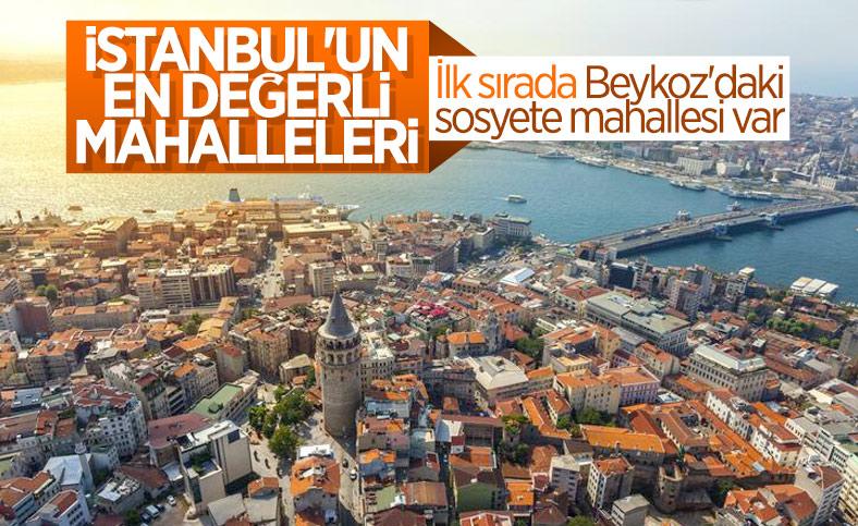 İstanbul'un konut fiyatlarına göre en değerli mahalleleri