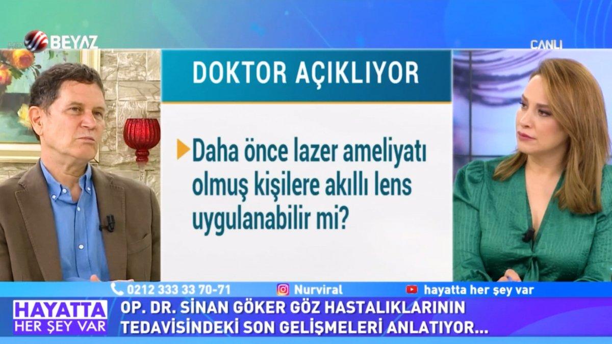Doktor Sinan Göker, göz rahatsızlıklarının tedavisi hakkında konuştu  #1