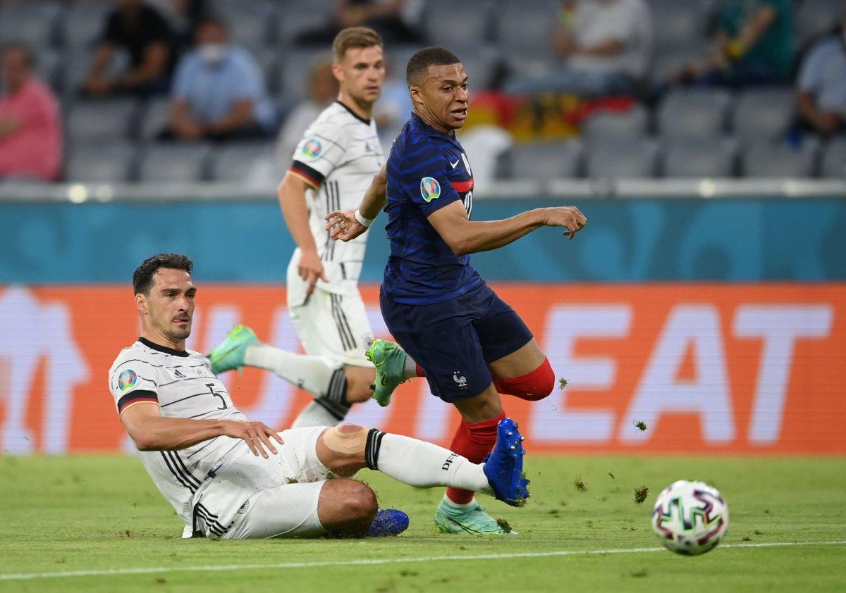 Fransa, Almanya yı tek golle mağlup etti #5