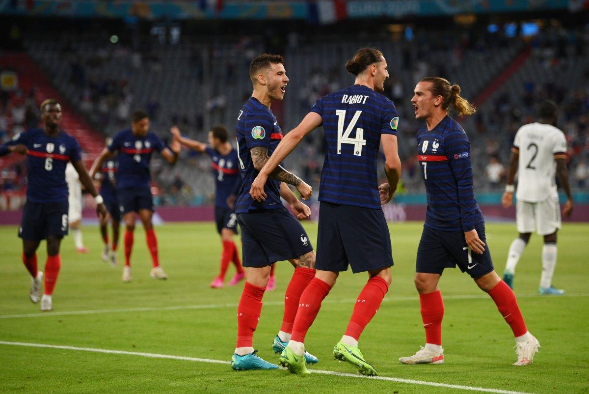 Fransa, Almanya yı tek golle mağlup etti #4