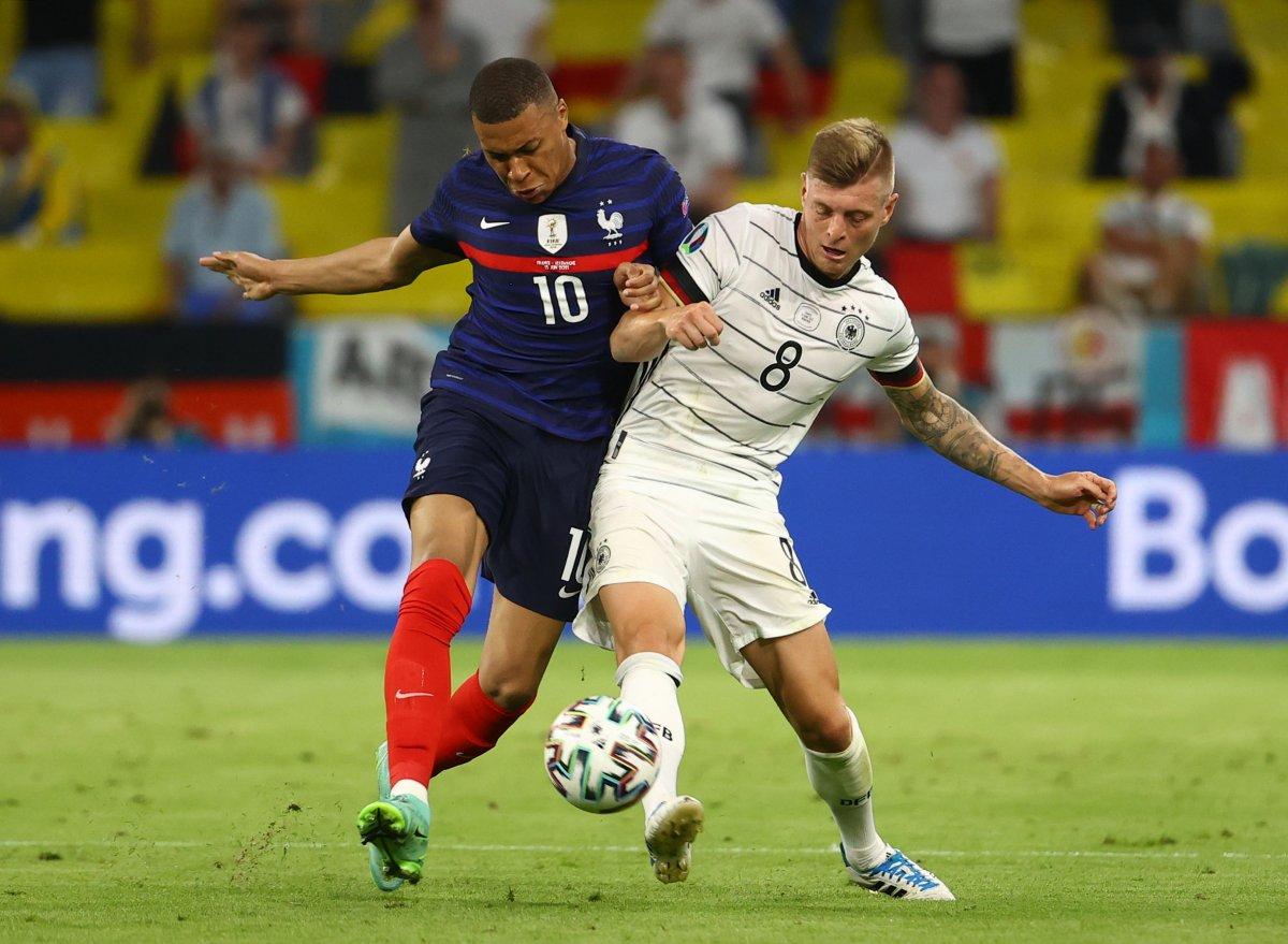 Fransa, Almanya yı tek golle mağlup etti #7