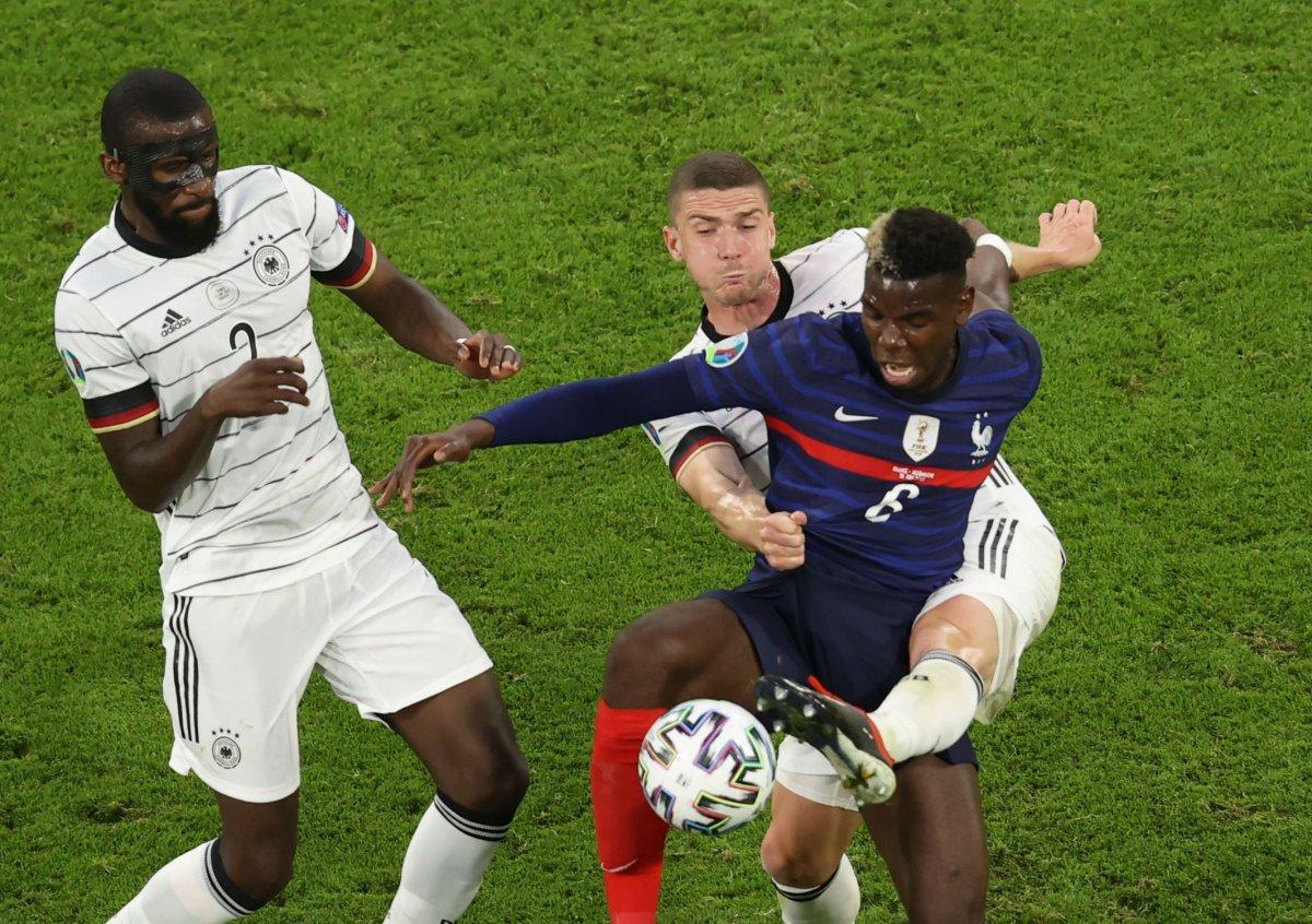 Fransa, Almanya yı tek golle mağlup etti #6