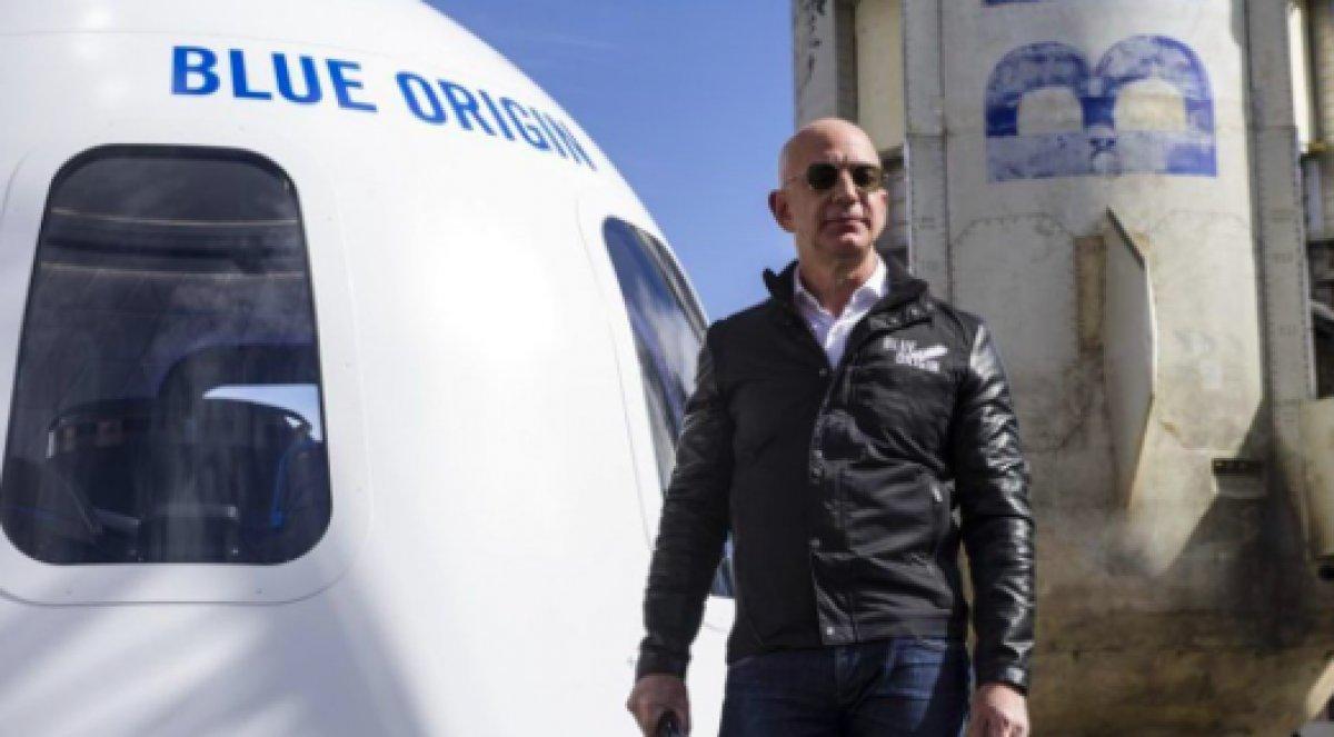 Jeff Bezos un uzay yolculuğundan dönmemesi için imza kampanyası başlatıldı #2