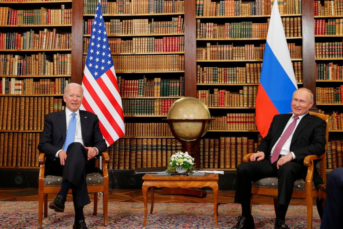 Joe Biden ve Vladimir Putin in görüşmesi başladı #1