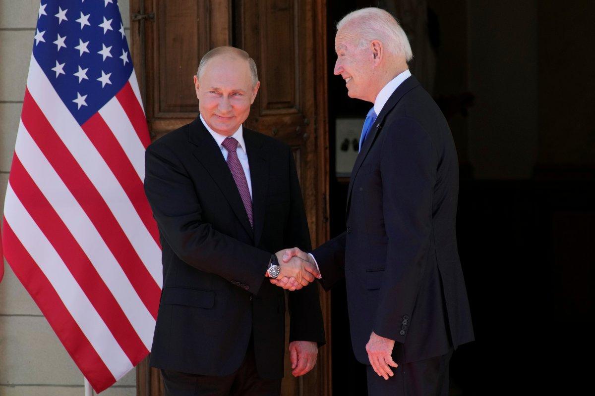 Joe Biden ve Vladimir Putin in görüşmesi başladı #6