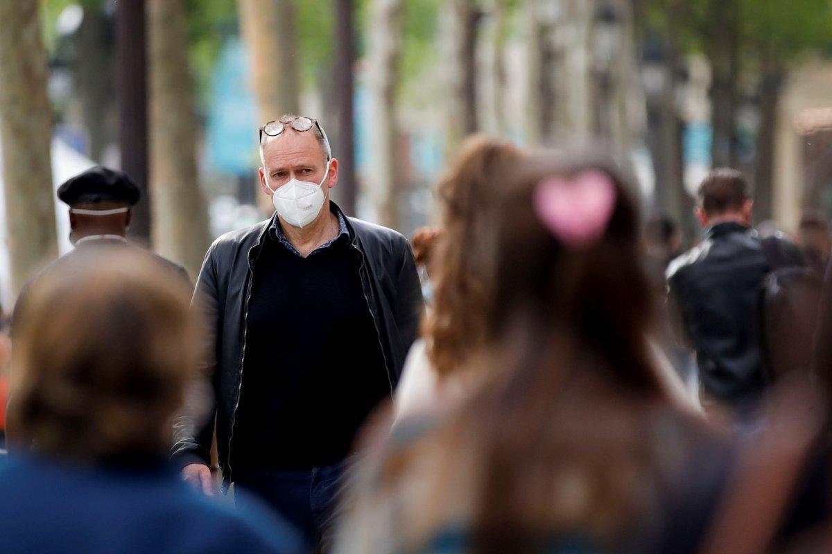 Fransa da maske zorunluluğu kaldırılıyor  #3