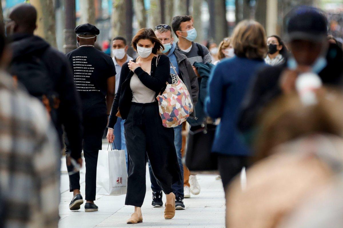 Fransa da maske zorunluluğu kaldırılıyor  #2