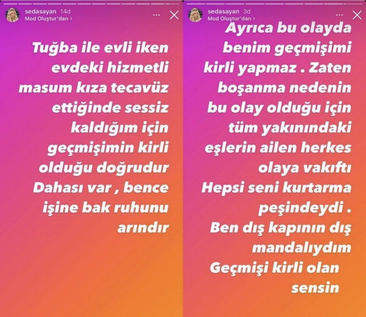 Mehmet Ali Erbil'den Seda Sayan ın tecavüz suçlamasına yanıt #1