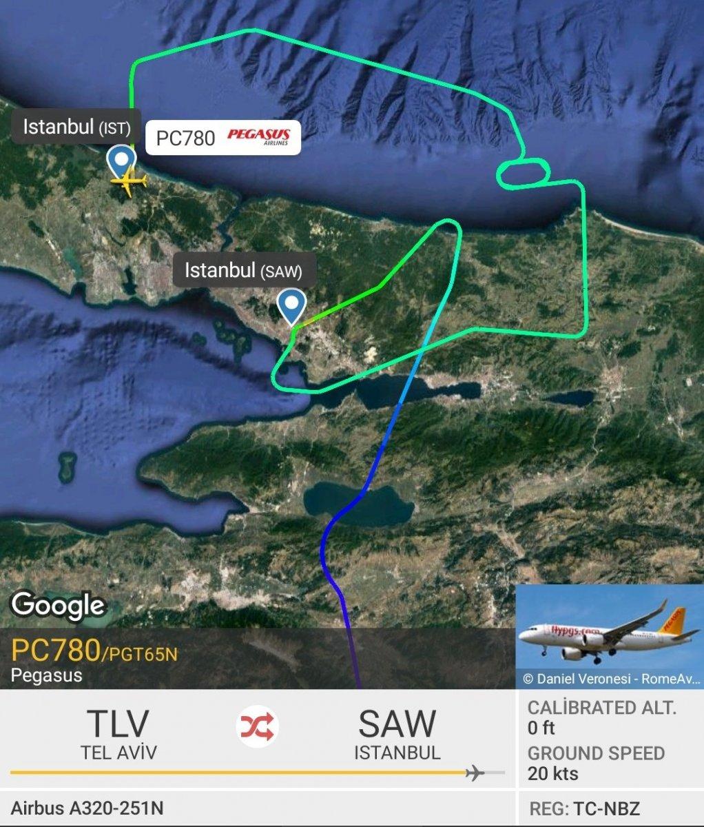 İstanbul da uçuşlara yağmur engeli #2
