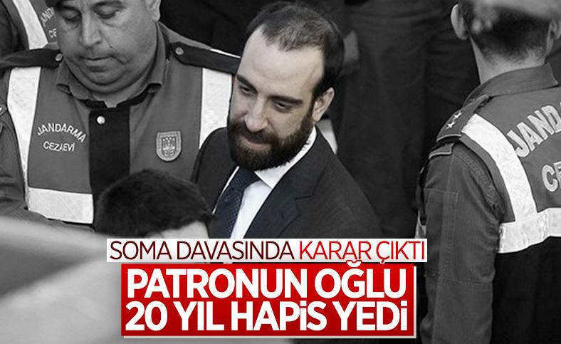 Soma davasında Can Gürkan'a 20, mühendislere 12 yıl 6 ay hapis