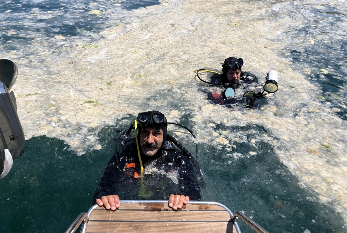 Marmara Denizi dibindeki yoğun müsilajın son durumu #4