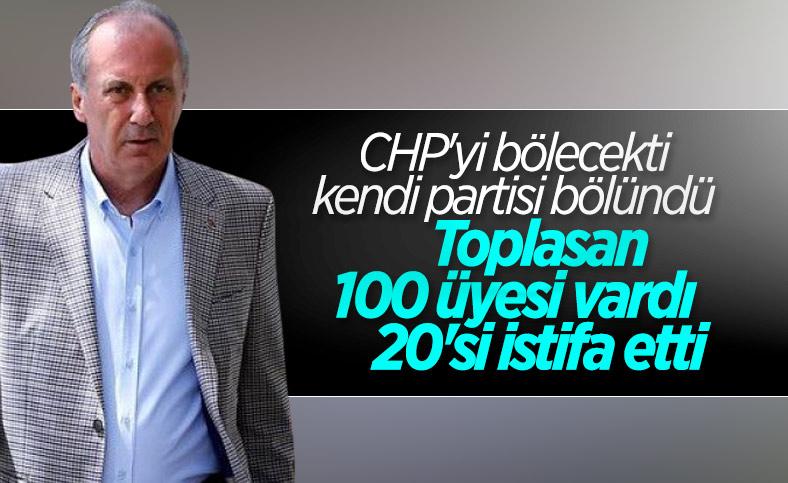 Memleket Partisi'nden 20 kişi istifa etti